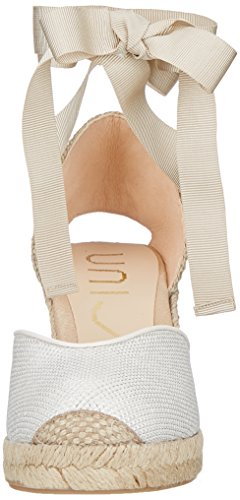 Unisa Women's Cleo_ev_n Wedding Shoes Off-white (White White) 2Nmv0cKY