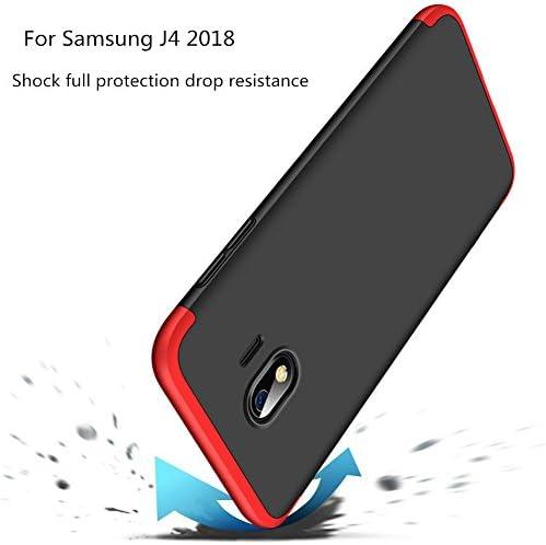 JOYTAG compatibles para Funda Samsung J4 2018 Carcasa +Protectora ...