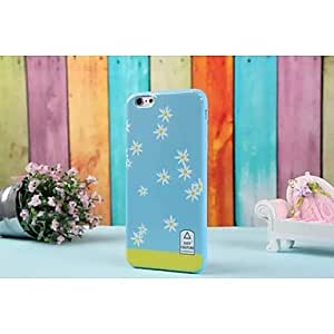 QYF New Ultra-Slim Flowers Stripe Pattern Style Plastic Case for iPhone 6 , 6