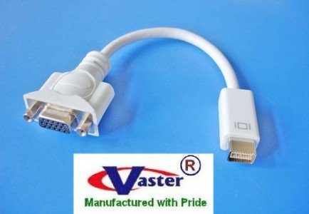 Mini DVI to VGA Monitor adapter cable for Apple MacBook