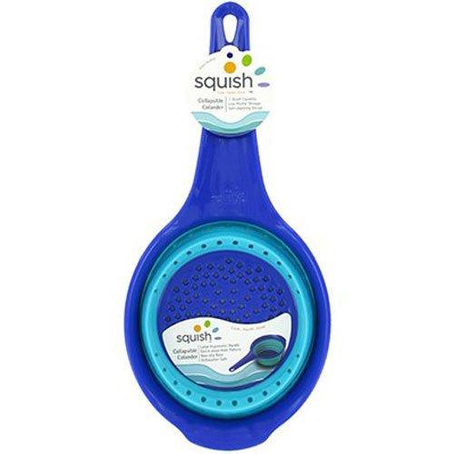 Squish 1 quart Colander, Blue