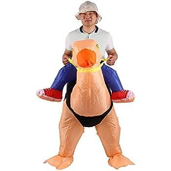 Amazon.com: Unicorn Adult Costume Outfit cosplay animal ...