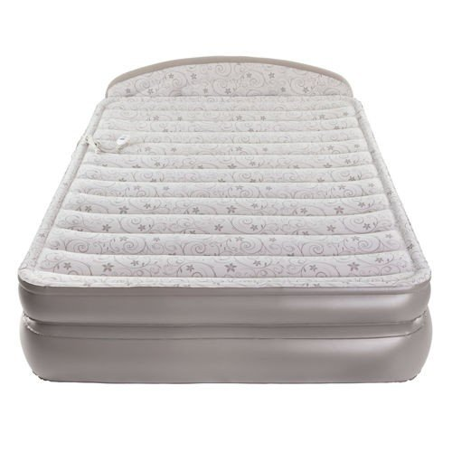 Aerobed Comfort Anywhere 18 Air Mattress With Headboard Design Powerful Built In Ac Pump For Convenient Super Fast Inflation Camp Stuffs