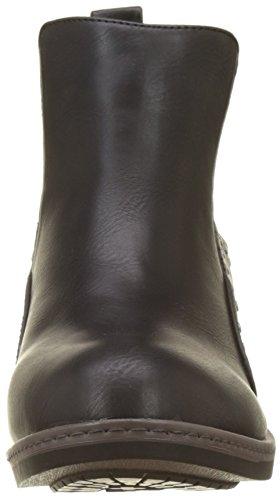 P'tites Chelsea Donna Les noir Stivali Carole Nero Bombes z11Id