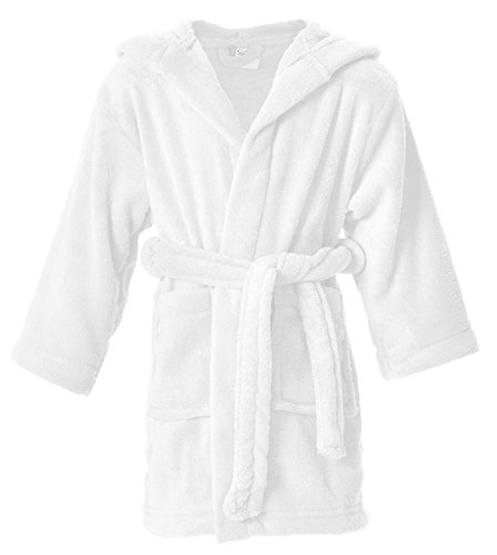 (Simplicity Toddler Pool Coverup Boys Girls Bath Pool Coverup and Cover up,White,1-3 Years)