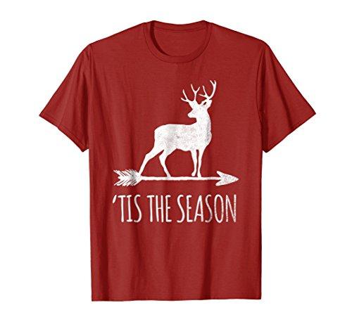 Funny Deer Hunting T-shirts - Tis the Season Funny Deer Bow Hunting T-shirt