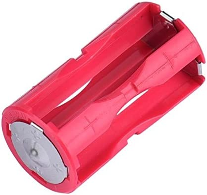 2X 4-AAA Battery Holder Cylindrical Plastic for Flashlight Round Circular 1.5V C