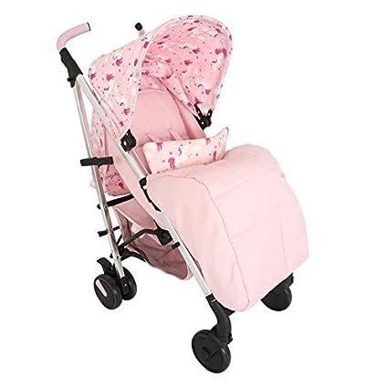 Mi Babiie Katie Piper mb51 unicornios carrito, color rosa: Amazon.es ...