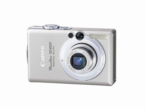 Canon PowerShot sd600 6 MPデジタルカメラwith Elph 3 x光学ズーム( Oldモデル)