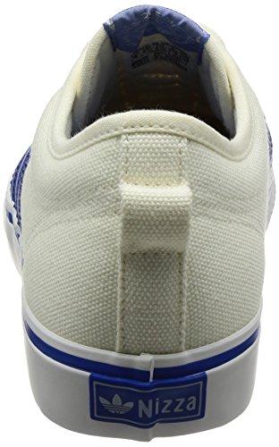 adidas Nizza, Zapatillas de Deporte Unisex Adulto Blanco (Casbla / Azul / Blacla)