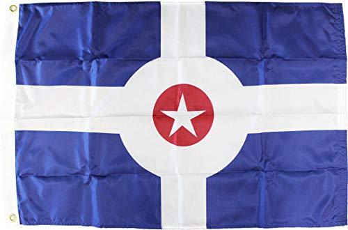 Indianapolis - 3' x 5' Nylon City Flag ()