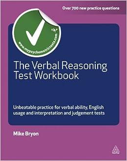 The Verbal Reasoning Test Workbook: Unbeatable Practice for