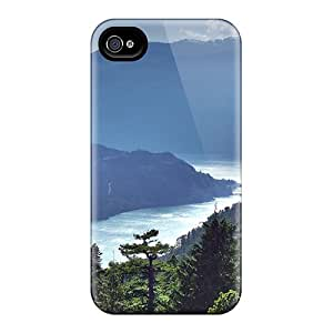 Iphone 4/4s Case Cover Skin : Premium High Quality Misty Fjord Case