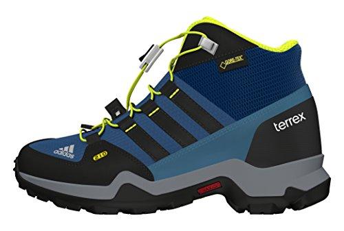 adidas Terrex Mid Gtx K, Zapatillas de Senderismo para Niños Varios Colores (Acetec / Negbas / Limuni)