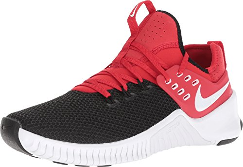 NIKE Men's Free X Metcon Training Shoes (8-M, Red/White/Black) -