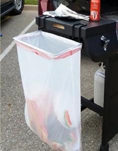 trash ease 13 gallon portable trash bag holder home kitchen. Black Bedroom Furniture Sets. Home Design Ideas