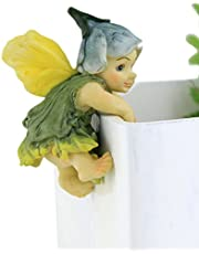 Top Collection Miniature Fairy Garden and Terrarium Fairy Baby Flower Pot and Vase Hugger, Mini