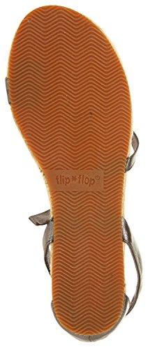 Flip Flop Damen Flache Sandalen Legierungic 20151-020