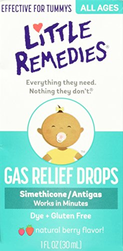 Little Remedies Gas Relief Drops For Newborns/Infants/Children, Berry, 3 Count by Little Remedies
