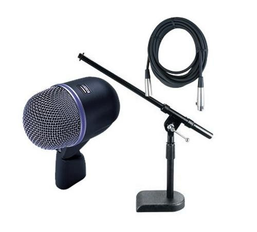 Shure Beta 52A Cardioid Dynamic Microphone Package