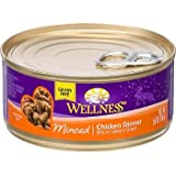 Wellness Minced Canned Cuts Chicken Adult Canned Cat Food, 5.5 oz., My Pet Supplies