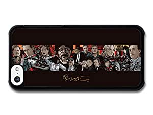 Diy iPhone 6 plus Quentin Tarantino Movie Collage Illustration Pulp Fiction Kill Bill Inglorious Basterds case for iPhone 6 plus