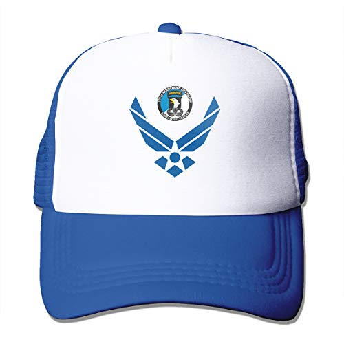 Cap Jjkisc 101St Airborne Division Civil Air Patrol Gorra de béisbol Ajustable Gorra de Malla Trucker Sombreros, Azul, Talla...