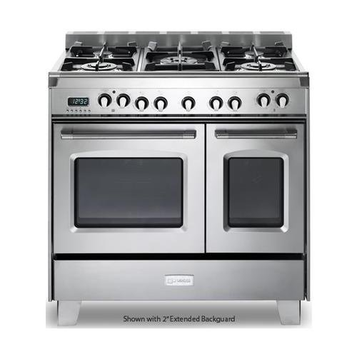 36 gas range with electric oven - 7