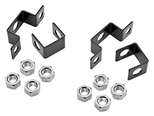 ms HLCF 13 Piece Powder Coated Steel Ceiling Mounting Bracket Kit for NextFrame Ladder Rack (Hubbell Ladder Rack)