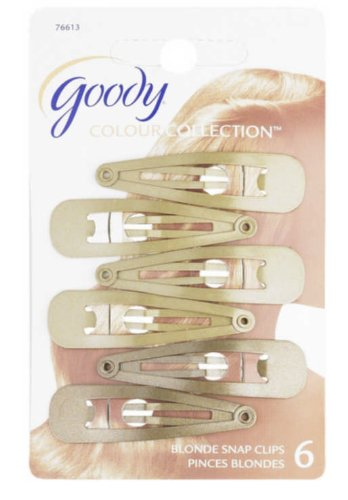 Goody Gd76613 Colour Collection Contour Clips, Blonde Sold P