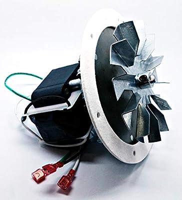 Repuesto QuadraFire pellet estufa de combustión Ventilador de escape Motor Kit 812 – 3381/812 – 4400.