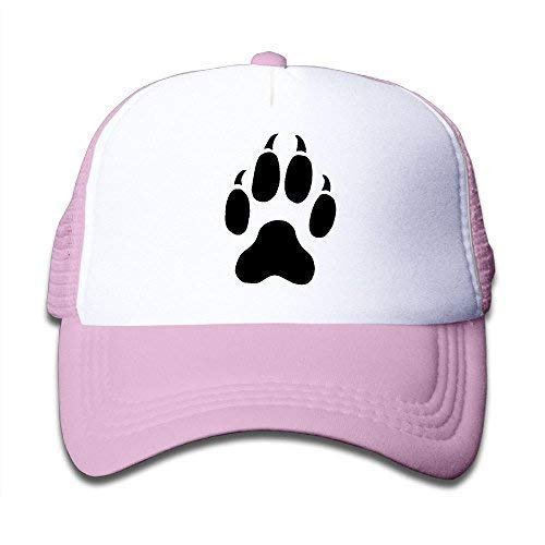 V.G1 Cat Paw Print Tattoos Mesh Baseball Cap Kid Boys Girls