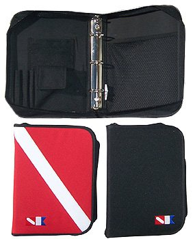 (Trident Scuba Log Binder Dive Flag Red)