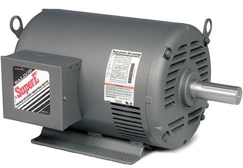 Baldor Electric Company EHM3311T - Blower/Fan Motor - 3 ph, 7-1/2 hp, 1800 rpm, 208-230/460 V, 213T Frame, ODP Enclosure, 60 Hz