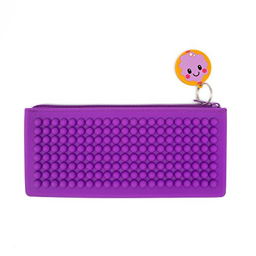 Jelly Donut Scented Smencil Buddies Silicone Pencil Case by