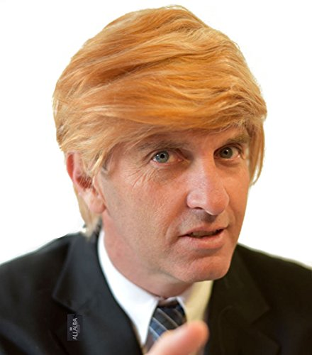 Funny Donald Trump Wig for Adults Kids Trumps MAGA President Hair Costume Wigs - http://coolthings.us