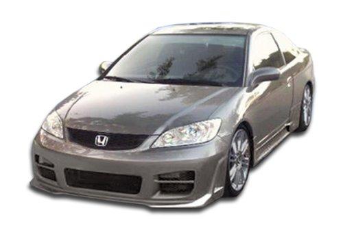 (Duraflex ED-KCE-885 R34 Body Kit - 4 Piece Body Kit - Compatible For Honda Civic 2004-2005)