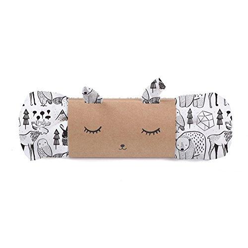 - Wee Gallery, Organic Muslin Swaddle, Baby Blanket - Nordic