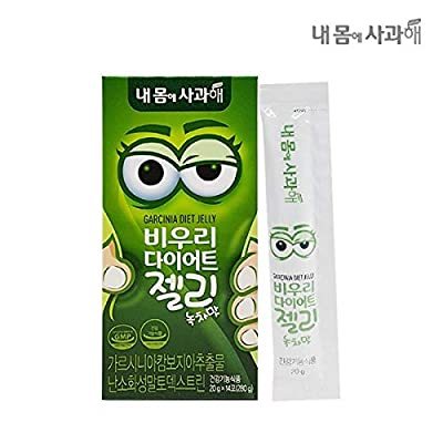 [Dr. MOON] Garcinia Diet Jelly-Green Tea Flavor(20g x 14 Packets) – A Healthy Diet, Natural Weight Loss Diet Supplement, Fast Acting Appetite Suppressant, Garcinia Cambogia