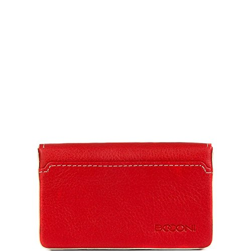 Boconi Kylie Rfid Magnetic Card Case (berry With Blonde)