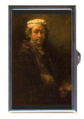 Rembrandt Van Rijn Artist Self Portrait Decorative Pill Box