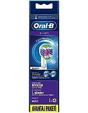 Oral-B Diş Fırçası Yedek Başlığı 3 Boyutlu Beyazlık CleanMaximiser 4 Adet