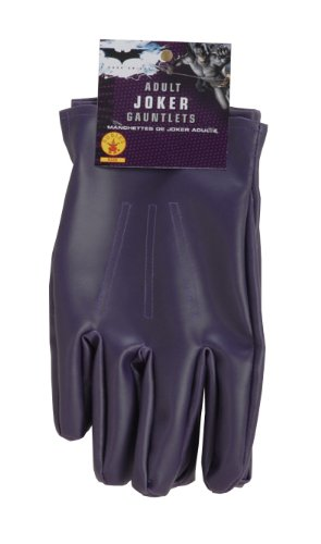 Rubie's Dc Heroes and Villains Collection Joker Adult Gloves, Purple, One Size for $<!--$10.48-->