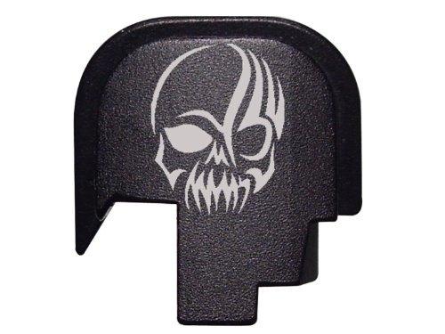 Skull Tattoo 2 Rear Slide Cover Plate for Smith & Wesson S&W SHIELD 9mm .40 (Tattoo Skull Pic compare prices)