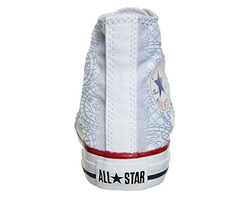Converse All Star Customized - zapatos personalizados (Producto Artesano) Sky Paisley
