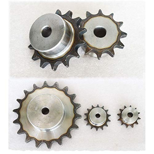25 Chain Sprocket - #25 Roller Chain Drive Sprocket 16T Pitch 1/4