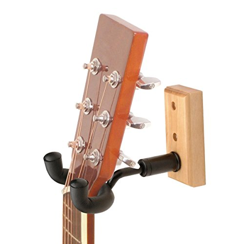 On Stage GS7730 Wooden Wall Guitar Hanger
