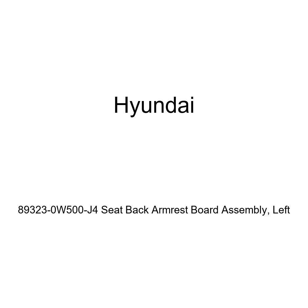 Left Genuine Hyundai 89323-0W500-J4 Seat Back Armrest Board Assembly