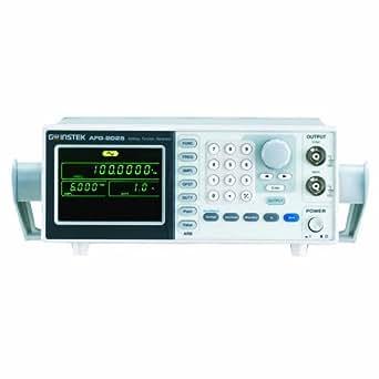 GW Instek AFG-2025 - Generador de funciones arbitrarias (DDS, rango de frecuencia de 0,1 Hz a 25 MHz)