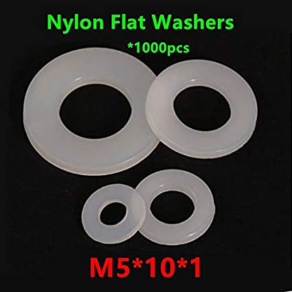M20 Nylon Plain Flat whasher Plastic washers White M2 M2.5 M3 M4 M5